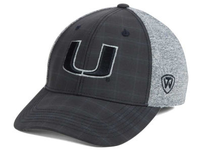 Miami Hurricanes Top of the World NCAA Steam 2Tone Flex Cap
