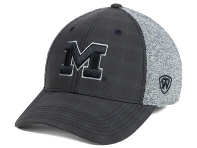 Michigan Wolverines Top of the World NCAA Steam 2Tone Flex Cap