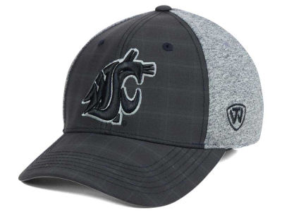 Washington State Cougars Top of the World NCAA Steam 2Tone Flex Cap