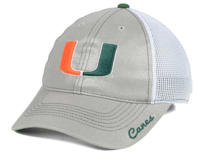 Miami Hurricanes Top of the World NCAA Women's Glamour Adjustable Cap