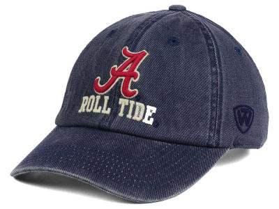 Alabama Crimson Tide Top of the World NCAA Rail Road Adjustable Cap