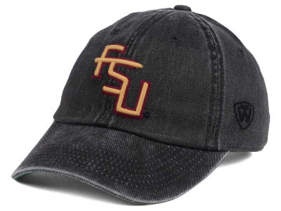 Florida State Seminoles Top of the World NCAA Rail Road Adjustable Cap