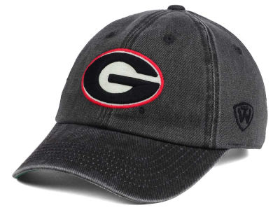 Georgia Bulldogs Top of the World NCAA Rail Road Adjustable Cap