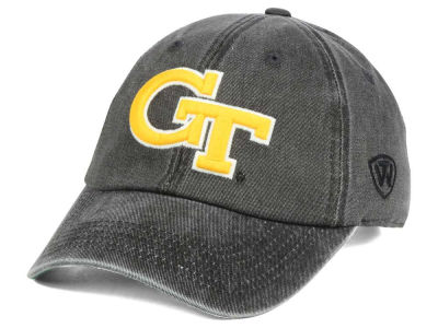 Georgia-Tech Top of the World NCAA Rail Road Adjustable Cap