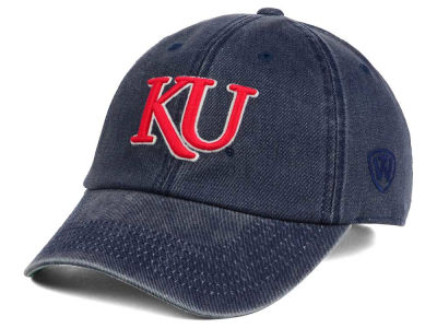 Kansas Jayhawks Top of the World NCAA Rail Road Adjustable Cap