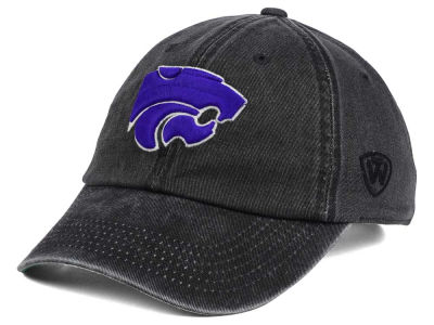 Kansas State Wildcats Top of the World NCAA Rail Road Adjustable Cap