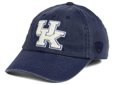 Kentucky Wildcats Top of the World NCAA Rail Road Adjustable Cap