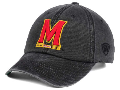 Maryland Terrapins Top of the World NCAA Rail Road Adjustable Cap