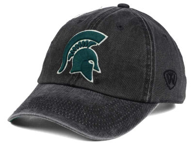 Michigan State Spartans Top of the World NCAA Rail Road Adjustable Cap