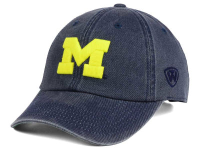 Michigan Wolverines Top of the World NCAA Rail Road Adjustable Cap