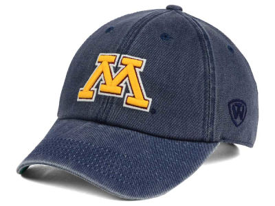 Minnesota Golden Gophers Top of the World NCAA Rail Road Adjustable Cap