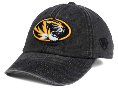 Missouri Tigers Top of the World NCAA Rail Road Adjustable Cap