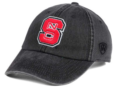 North Carolina State Wolfpack Top of the World NCAA Rail Road Adjustable Cap