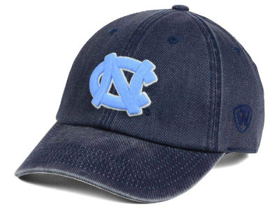 North Carolina Tar Heels Top of the World NCAA Rail Road Adjustable Cap