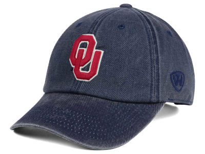 Oklahoma Sooners Top of the World NCAA Rail Road Adjustable Cap
