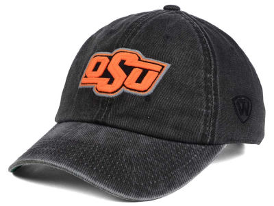 Oklahoma State Cowboys Top of the World NCAA Rail Road Adjustable Cap