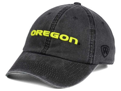 Oregon Ducks Top of the World NCAA Rail Road Adjustable Cap