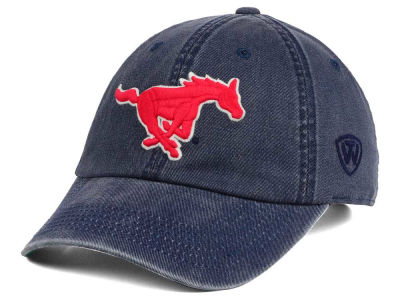 Southern Methodist Mustangs Top of the World NCAA Rail Road Adjustable Cap