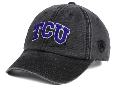 Texas Christian Horned Frogs Top of the World NCAA Rail Road Adjustable Cap
