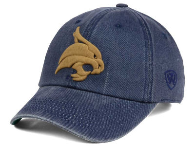 Texas State Bobcats Top of the World NCAA Rail Road Adjustable Cap