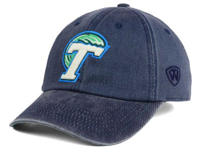 Tulane Green Wave Top of the World NCAA Rail Road Adjustable Cap