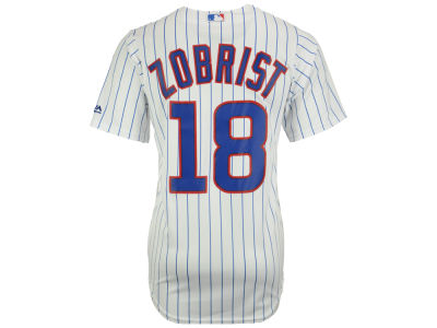 Chicago Cubs Ben Zobrist Majestic MLB Men's Player Replica Cool Base Jersey