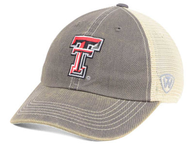 Texas Tech Red Raiders Top of the World NCAA College World Series Dirty Mesh Single Team 1 Snapback Cap