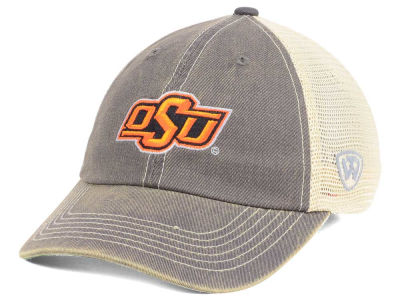 Oklahoma State Cowboys Top of the World NCAA College World Series Dirty Mesh Single Team 7 Snapback Cap