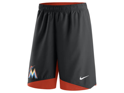 Miami Marlins Nike MLB Men's AC Dry Woven Shorts