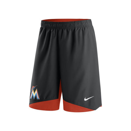Miami Marlins Nike MLB Men's AC Dry Woven Shorts