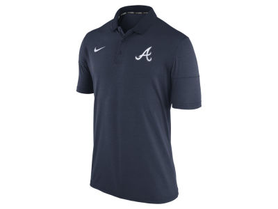 Atlanta Braves Nike MLB Men's Dri-Fit Polo 1.7