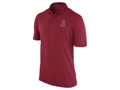 Los Angeles Angels Nike MLB Men's Dri-Fit Polo 1.7