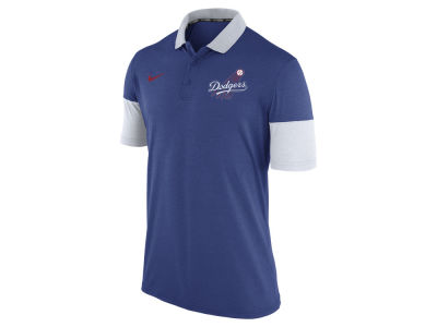 Los Angeles Dodgers Nike MLB Men's Dri-Fit Polo 1.7