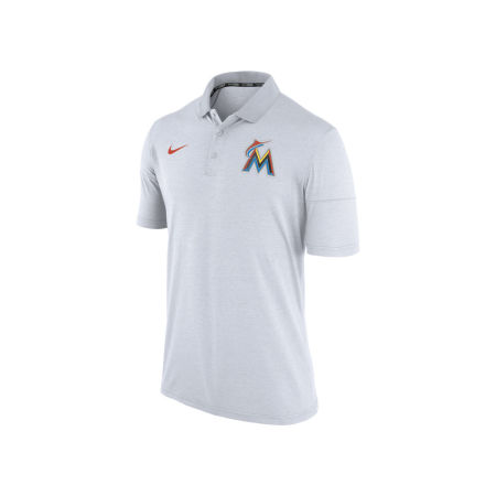 Miami Marlins Nike MLB Men's Dri-Fit Polo 1.7