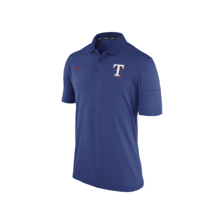 Texas Rangers Nike MLB Men's Dri-Fit Polo 1.7
