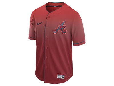 Atlanta Braves Nike MLB Men's Fade Jersey