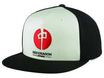 Red Dragon Skate Point Contour Cap
