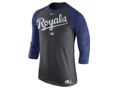 Kansas City Royals Nike MLB Men's AC Legend 3/4 Raglan T-Shirt 1.7