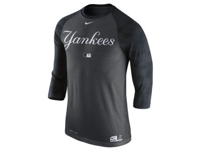 New York Yankees Nike MLB Men's AC Legend 3/4 Raglan T-Shirt 1.7
