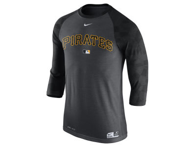 Pittsburgh Pirates Nike MLB Men's AC Legend 3/4 Raglan T-Shirt 1.7