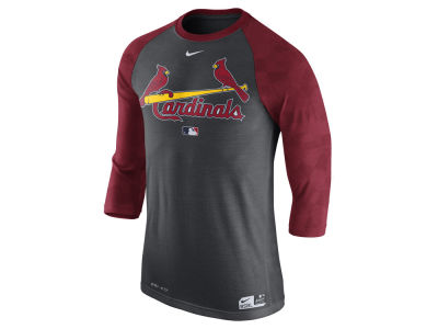 St. Louis Cardinals Nike MLB Men's AC Legend 3/4 Raglan T-Shirt 1.7