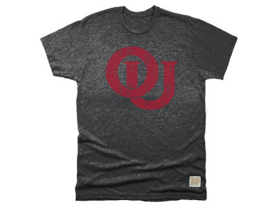 Oklahoma Sooners Retro Brand NCAA Men's Mock Twist Team Logo T-Shirt