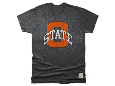 Oklahoma State Cowboys Retro Brand NCAA Men's Mock Twist Team Logo T-Shirt