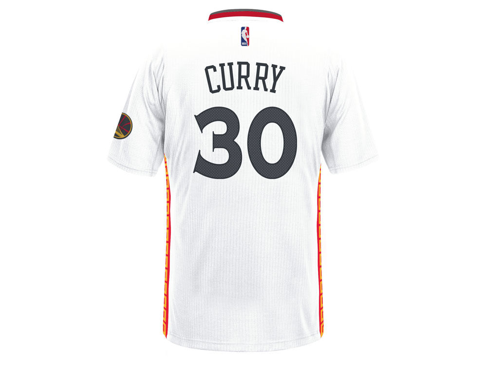 Golden State Warriors Stephen Curry adidas NBA Men s Chinese New Year  Swingman Jersey  6f6167de1