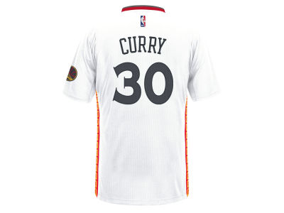 Golden State Warriors Stephen Curry adidas NBA Men's Chinese New Year Swingman Jersey