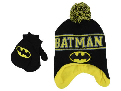 DC Comics DC Comics Toddler Batman Peruvian Knit Set