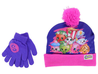 Shopkins Shopkins Girl's Group Knit and Glove Set