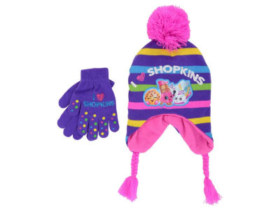 Shopkins Shopkins Girl's Peruvian Knit and Glove Set
