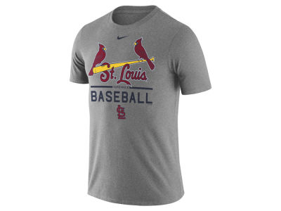St. Louis Cardinals Nike MLB Men's Away Practice T-Shirt 1.7