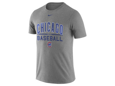 Chicago Cubs Nike MLB Men's Away Practice T-Shirt 1.7